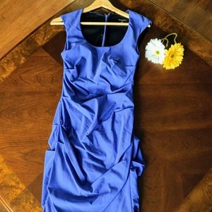 Le Chateau Royal Blue Dress